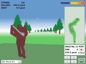 Bear Golf Tourのゲーム画像
