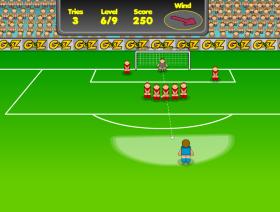 フリーキック2 – オンラインゲーム王のゲーム画像