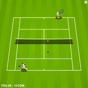テニスゲーム – ゲームデザインのゲーム画像