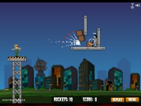 Flaming Zombookaのゲーム画像