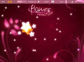 Flower Reactionのゲーム画像