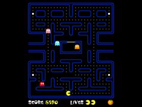 PACMANのゲーム画像