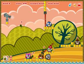 PENGUIN DESTROYERのゲーム画像