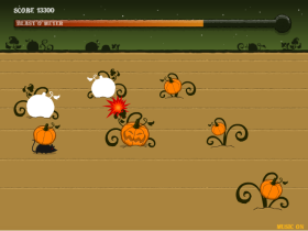 PUMPKIN PATCH BLASTのゲーム画像