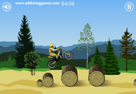 Stunt Dirt Bikeのゲーム画像