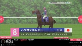 JAPAN WORLD CUPのゲーム画像