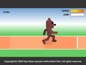 The 110m Hurdlesのゲーム画像