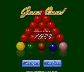 Blast Billiards 2008 – ワウゲームのゲーム画像