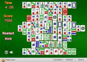 Mahjongg – ワウゲームのゲーム画像