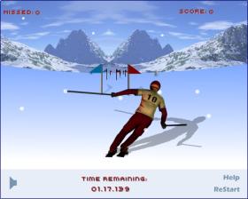 Ski Run – ワウゲームのゲーム画像