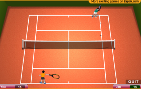 TENNIS II – ワウゲームのゲーム画像